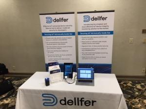 dellfer security booth at the IQPC conference
